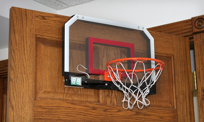 Over-the-Door Basketball Hoop: $20 for a Triumph Sports Over-the & Over-the-Door Basketball | Groupon Goods Pezcame.Com