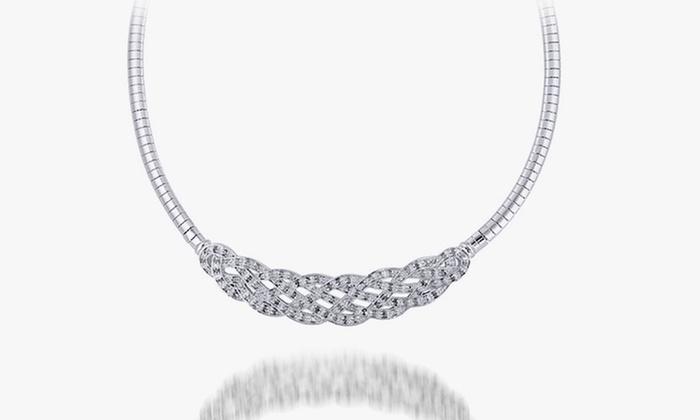 1/4 Ct. T.W. Diamond Necklace: 1/4 Ct.T.W. Diamond Necklace. Free Returns.