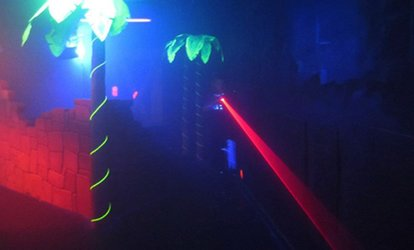 Laser Tag, Unlimited <strong>Mini <strong>Golf</strong></strong>, and Soft Drinks for Up to 4 or 10 at Walther's <strong>Golf</strong> & Fun (Up to 54% Off)
