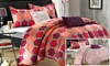 5-Piece Treste Reversible Comforter Set: 5-Piece Treste Reversible Comforter Set
