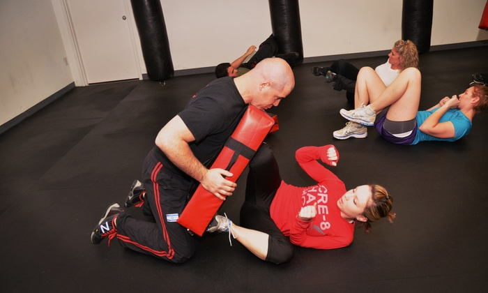 Israeli Krav Maga - Multiple Locations: Four Krav Maga Self-Defense Classes at Israeli Krav Maga (70% Off)