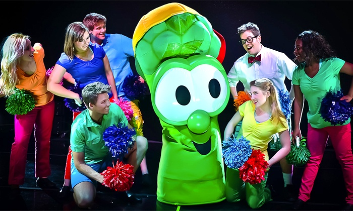 """Veggietales Live!"" - H-E-B Center at Cedar Park: ""VeggieTales Live! Little Kids Do Big Things"" on October 28 at 4 p.m. or 7:30 p.m."