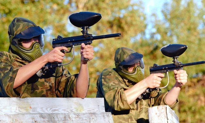 H2 Paintball - H2 Paintball: Full Day of Paintball with Equipment and  Paintballs for Two, Four, or Six at H2 Paintball (Up to 65% Off)