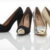 $29.99 for Women's Statement-Toe Pumps