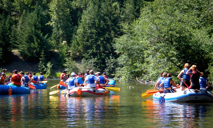 Rill Adventures - Thorp: $67 for a Yakima River Rafting Trip for Up to Eight People from Rill Adventures (Up to $135 Value)