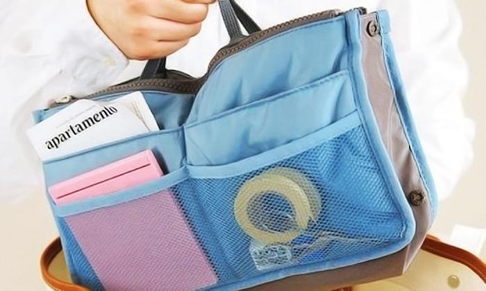 Dimoda Fashions: Two Handbag Organizers or $50 toward Jewelry from Dimoda Fashions (Up to 79% Off)