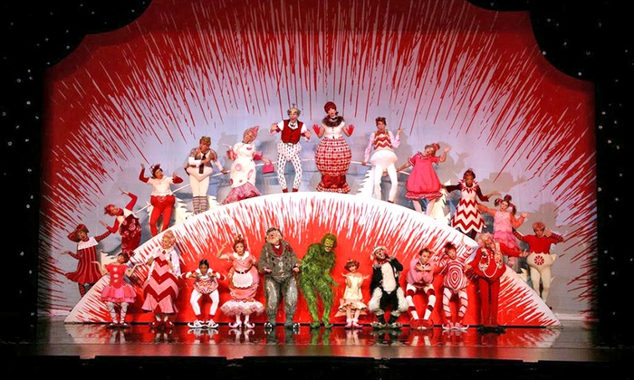 """""""Dr. Seuss' How the Grinch Stole Christmas! The Musical"""" - The Chicago Theatre: """"Dr. Seuss' How The Grinch Stole Christmas! The Musical"""" on November 20–28 (Up to 31% Off)"""
