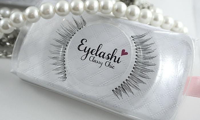Eyelashi: Luxury Mink and Hand-Tied Strip Eyelashes from Eyelashi (Up to 50% Off). Two Options Available.