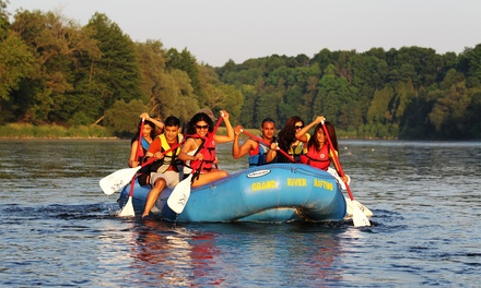 Three-Hour Grand River Rafting Adventure for 2, 4, 8, 12, or 16 People from Grand River Rafting (Up to 62% Off)
