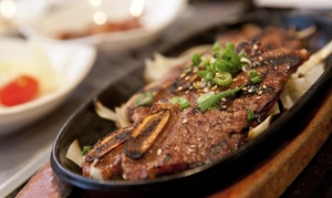 New Seoul Garden Restaurant: Korean and Japanese Food at New Seoul Garden (Up to 35% Off). Two Options Available.