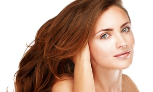 Salon 727: Haircut with Deep Condition, Partial Highlights, or Root Touch Up, or Blowout at Salon 727 (Up to 57% Off)