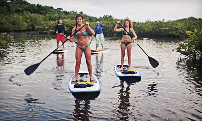 Paddle Boarding Palm Beach LLC - Riviera Beach: One- or Two-Hour Paddleboard Rental for Two at Paddle Boarding Palm Beach LLC (Up to 52% Off)