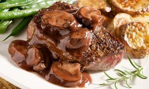 Hotel Giardini Al Lago: Menu di carne di 3 portate con calice di vino per 2 o 4 persone all'Hotel Giardini Al Lago (sconto fino a 66%)