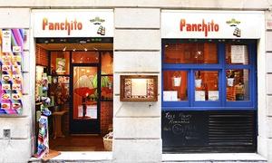 Panchito: Menú para 2 o 4 con degustación de entrantes, principal, postre y bebida o botella de vino desde 19,95 € en Panchito