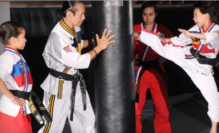 One or Three Months of Unlimited Martial-Arts Classes at West Coast World Martial Arts Association (Up to 67% Off)