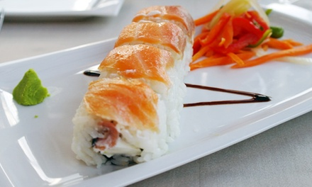 $12.50 for $25 Worth of Sushi and Asian Fusion Entrees at Sky Asian Bistro
