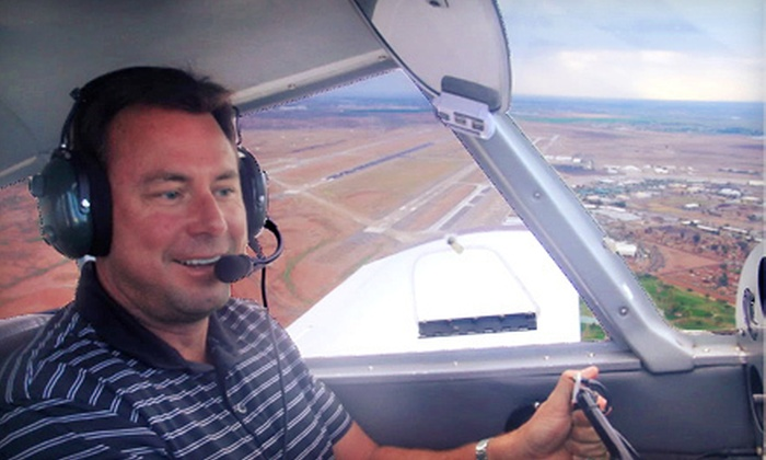 Flying High LLC - Mesa: $89 for a One-Hour Introductory Flight Lesson from Flying High LLC in Mesa ($182.50 Value)