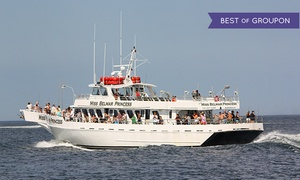 Miss Belmar Princess: 7-Hour Striped Bass and Bluefish Fishing Trip for One, Two, or Four from Miss Belmar Princess (Up to 51% Off)