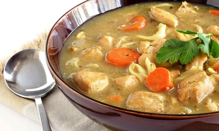 $8.99 for Two Quarts of Soup at Z Deli & Catering ($15.90 Value)