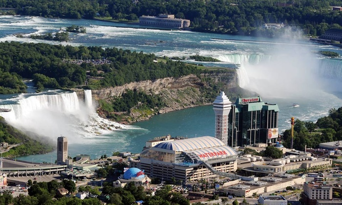 Sheraton On The Falls - Niagara Falls, Ontario: Stay with Dining Credits and Wine Tasting for Two at Sheraton On The Falls in Niagara Falls, ON. Dates into June.