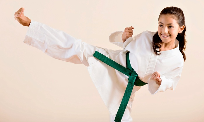 Universal Karate Studios - Multiple Locations: One- or Two-Month Kids' Membership with Two Classes a Week and a Uniform at Universal Karate Studios (Up to 68% Off)
