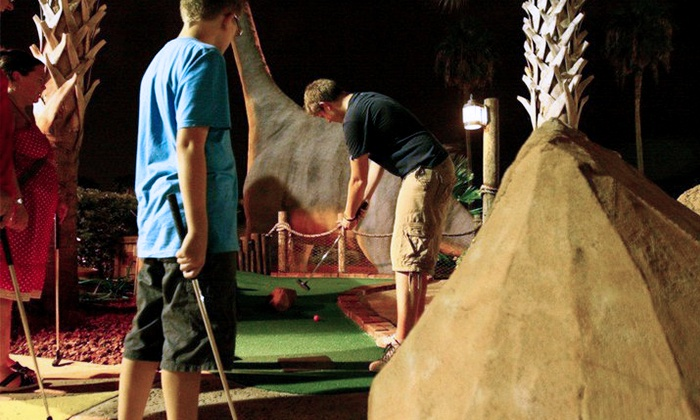 Volcano Island Miniature Golf - Southwest Orange: Round of Mini Golf for Two or Four at Volcano Island Miniature Golf (Up to 46% Off)