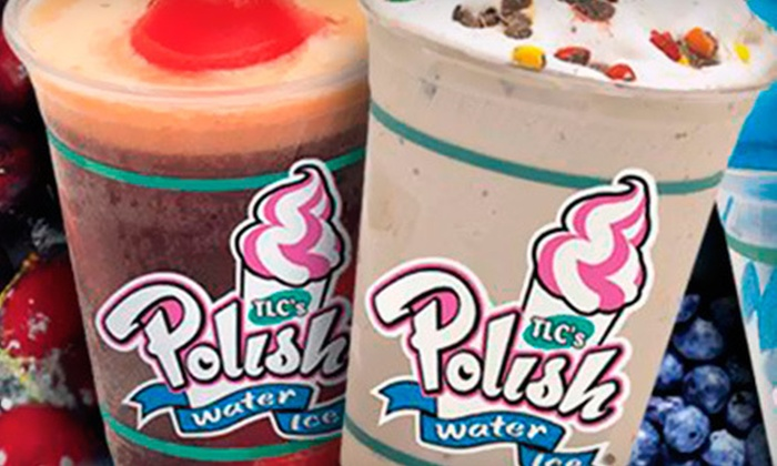 TLC's Polish Water Ice - Seaside Heights: 5- or 10-Visit Punch Card or $10 Worth of Treats at TLC's Polish Water Ice in Seaside Heights (Up to 62% Off)