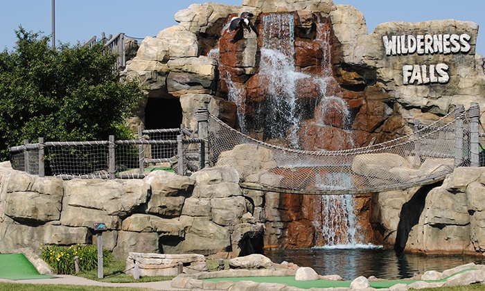 Wilderness Falls - Bolingbrook: Mini-Golf Package for 2 or 4 Adults, or Birthday Party for Up to 12 Kids at Wilderness Falls (Up to 51% Off)