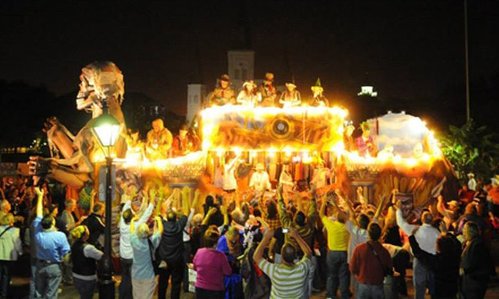 Krewe of Boo - Lower Garden District: Float-Ride Membership for Two or Spook Fest Admission for Two, Four, or Six from Krewe of Boo (Up to 54% Off)