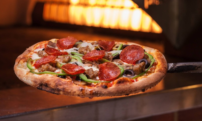 Your Pie Roswell - Roswell: Brick Oven Pizzas, Paninis, and Chopped Salads at Your Pie Roswell (Up to 46% Off). Two Options Available.