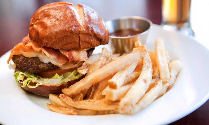 Double Barrel Grill - Hutchinson: Casual Dining at Double Barrel Grill (Up to 50% Off). Two Options Available.