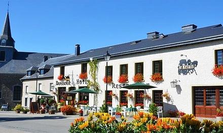 CorbionsurSemois: 13 nachten met ontbijt, welkomstdrankje, wellness en naar keuze diner voor 2 bij Auberge Le Relais