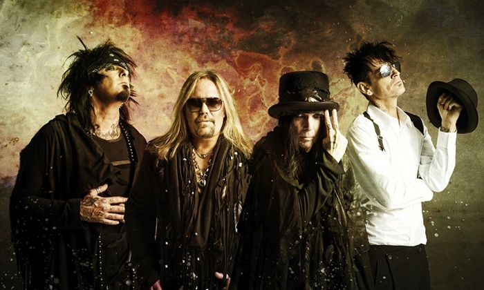 Motley Crue - EnergySolutions Arena: Mötley Crüe – The Final Tour with Alice Cooper at EnergySolutions Arena on July 29 (Up to 36% Off)