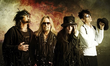 Mötley Crüe – The Final Tour with Alice Cooper at Webster Bank Arena on Friday, October 16 (Up to 61% Off)