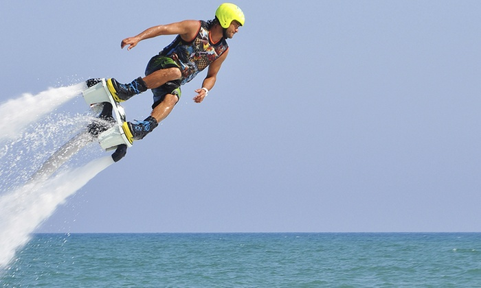 Hydro Flight Adventures LLC - Rocky Mound: Up to 42% Off Jetpack and Jetblade  at Hydro Flight Adventures LLC