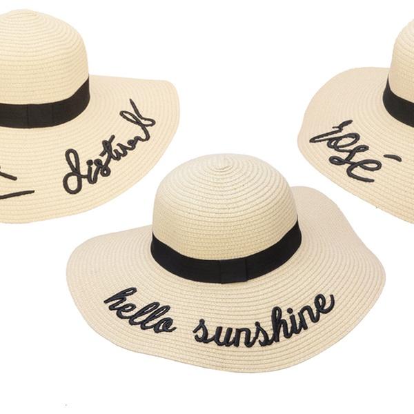 af3e4e957572f Embroidered Sun Hats