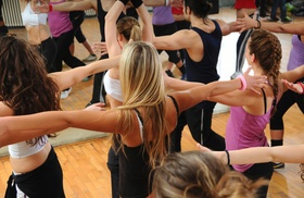 180 Fitness - Dracut: Four Weeks of Unlimited Zumba Classes at 180 Fitness (45% Off)