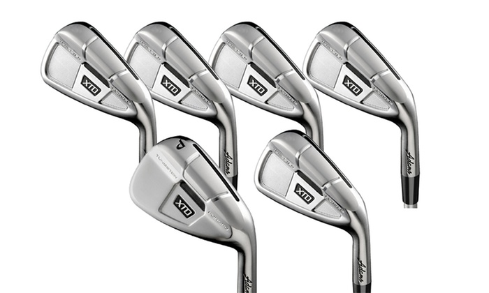 Adams Golf Menu0027s XTD Forged Iron Set (5 PW): Adams Golf ...