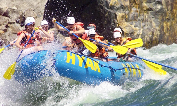Hyak River Rafting - Hyak River Rafting: Paddle- or Power-Rafting Trip for One, Two, Four, or Eight from Hyak River Rafting (Up to 50% Off)