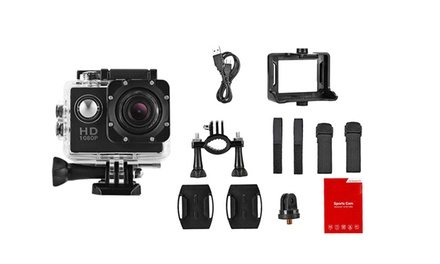 1080p Waterproof Mini Sports Camera: One $39 or Two $59
