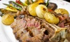 Troy Restaurant - Grant City : European Dinner for Two or Four with Appetizers or Salads, Entrees, and Wine at Troy Restaurant (Up to 59% Off)