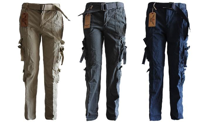 Lee Hanton Men's Cargo Pants | Groupon Goods