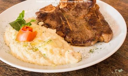 Jow Steaks – Asa Sul: 1 salada Caesar e 2 T-Bone Steak para 2 pessoas