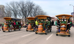 The Handle Bar: Two or Four Seats on a BYOB Pedaling Tour from The Handle Bar (Up to 56% Off)