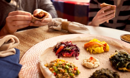Ethiopian Food for Two or Four at Taste of Ethiopia (Up to 50% Off)