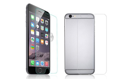Abyss Tempered-Glass Screen and Back Protectors for iPhone 6 or 6 Plus