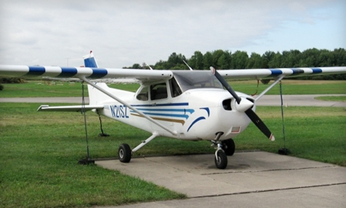 Aviators Flight Academy - Miamisburg: $89 for an Introductory Flight Package with a 30-Minute Flight Lesson at Aviators Flight Academy ($189 Value)