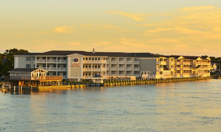 Stay, with Optional Dining Credit, at Comfort Suites Chincoteague Island in Chincoteague, VA. Dates into June.