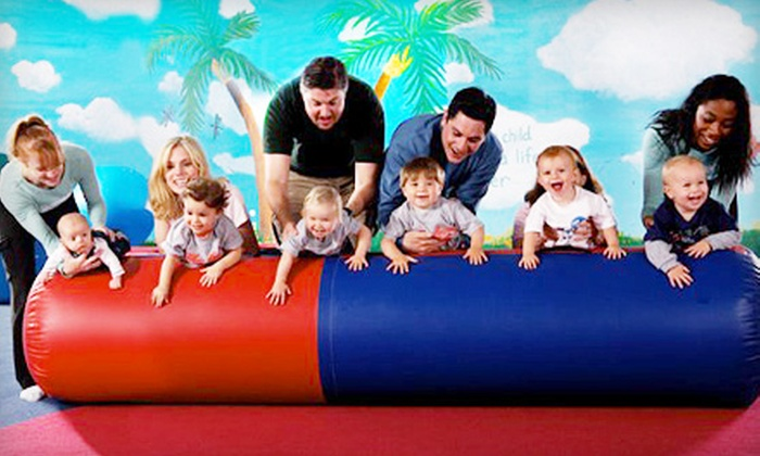 My Gym Children's Fitness Center - Multiple Locations: 5 or 10 Kids' Fitness Classes or Practice and Play Sessions at My Gym Children's Fitness Center (Up to 60% Off)