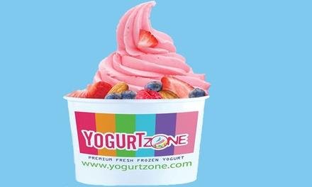 $12 for Four Groupons, Each Good for $5 Worth of Frozen Yogurt at Yogurt Zone ($20 Value)